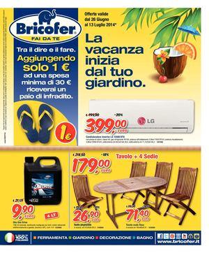Bricofer Tavoli Da Giardino.Calameo Volantino Bricofer 26giu 13lug