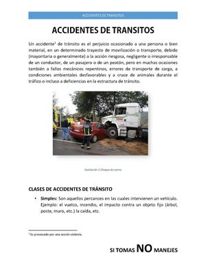 Accidentes de Transitos