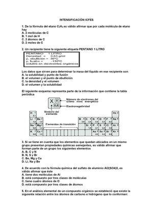 Calaméo Refuerzo Quimica 11 Icfes