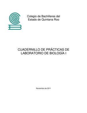 Calaméo - CUADERNILLO DE PRÁCTICAS DE BIOLOGÍA 1
