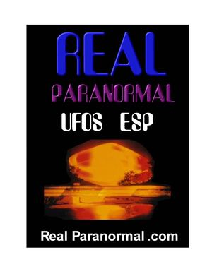 REAL PARANORMAL Volume 1