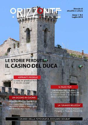Calameo Orizzonte Magazine N 5 2014
