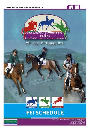 FEI European Championships for Ponies - Eventing