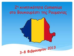 2nd Comenius mobility in Romania