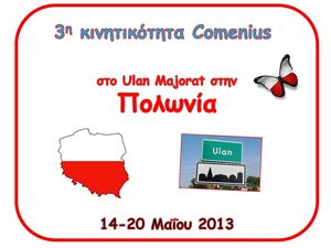 3rd Comenius mobility in Poland
