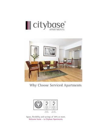 Why Choose A Serviced Apartment?
