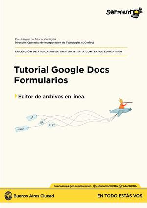 Tutorial Google Docs Formularios