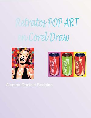 Retratos POP ART  en Corel Draw