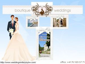 Fantastic Planner Of Weddings In Italy