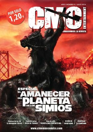 Preview Cinemascomics: La revista. Nº 5 Julio 2014