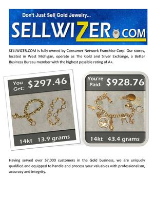 SellWizer The Best Online Gold Buyers