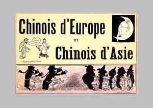 Grand-Carteret, John : Chinois d'Europe et Chinois d'Asie