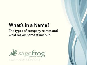 Sagefrog_Value_of_a_Name