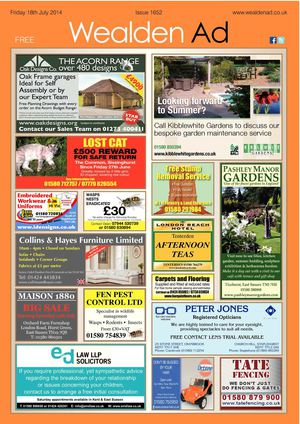 Wealden Advertiser 18/07/14