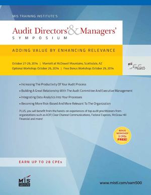 Audit Directors & Managers' Symposium