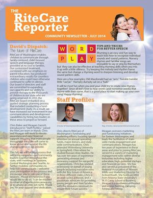 RiteCare of Washington Reporter