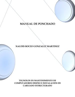 MANUAL DE PONCHADO