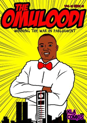 The Omuloodi Comic book