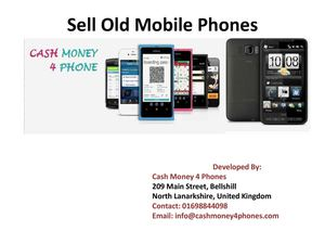 Sell Old Mobile Phones