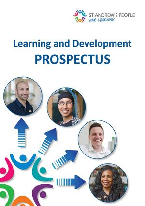 St Andrew's Learning and Development Prospectus