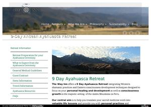 9-Day Andean Ayahuasca Retreat Peru - The Way Inn