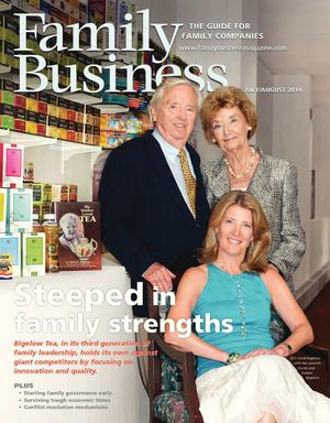 Family Business Magazine—July/August 2014