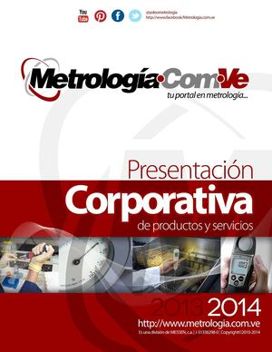 Presentacion Corporativa - Metrologia.com.ve