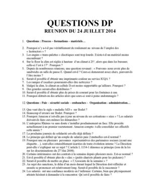 QUESTIONS CGT DP. du 01-08-2014