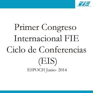 Ciclo de Conferencias EIS 2014
