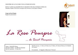TPFE - La Rose Pourpre de st Pourcain O.Galliot