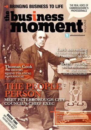 The Business Moment - August 2014 - Issue 8