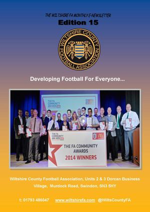 Wiltshire County FA Edition 15 E-News