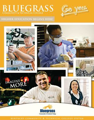 Bluegrass Community and Technical College Viewbook - (Ages 25+)