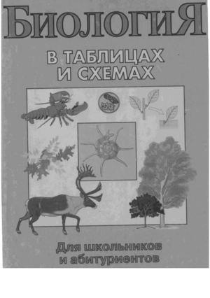 Зоология в таблицах и схемах.