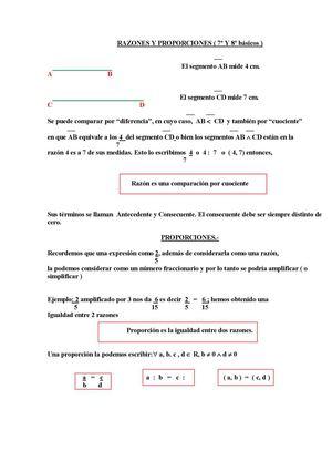 Calaméo - Razones y Proporciones Septimo Grado Herveca-Diego Conde