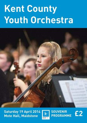 Kent County Youth Orchestra Programme April 2014