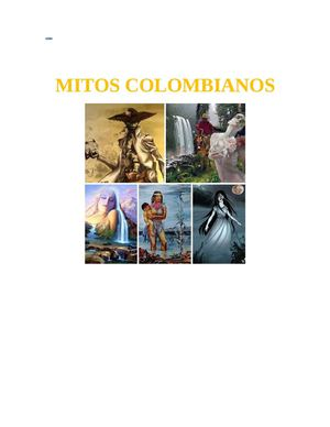 Mitos Colombianos