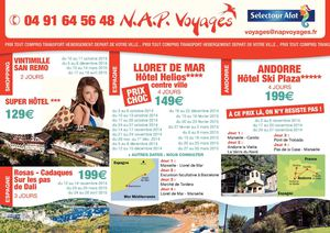 FLYER PROMOTIONNEL SEPTEMBRE 2014