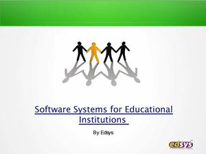 Software Systems for Educational Institutions