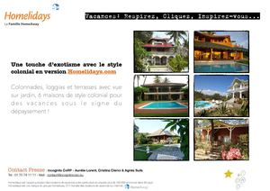 Homelidays - Maisons coloniales