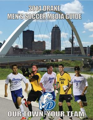 2014 Drake Men's Soccer Media Guide