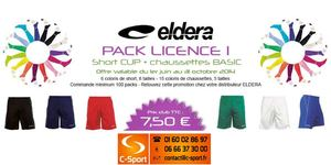 Packs Promo Eldera 2014 : C-Sport.fr