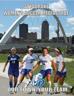 2014 Drake Women's Soccer Media Guide
