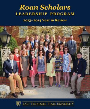 ETSU Roan Scholars 2013-2014 Year in Review