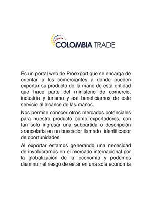 Colombia Trade Andres Rativa