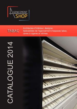 Catalogue Agencement shop Mobilier Tabac