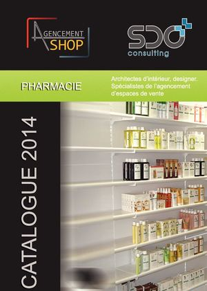 Agencement Shop Catalogue Pharmacie