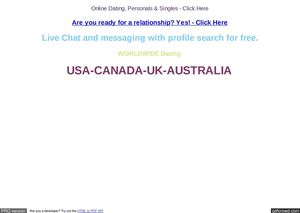 Yahoo dating Australia