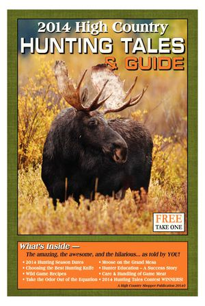 High Country Hunting Tales & Guide 2014