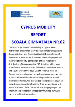 CYPRUS MOBILITY REPORT